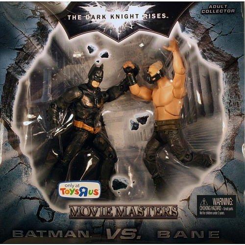 Batman Dark Knight Rises Movie Masters Exclusive Deluxe Action Figure 2Pack Batman Vs. Bane