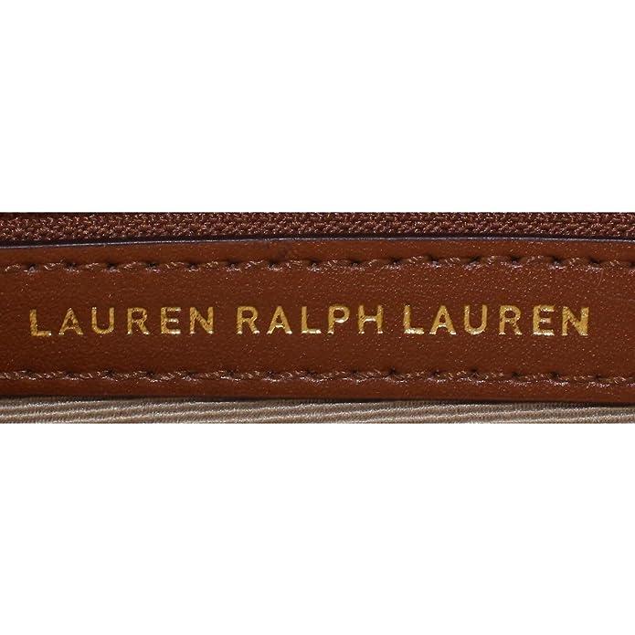d6a3adba5bc Lauren Ralph Lauren Womens Tate Leather Mini Crossbody Handbag Tan Small   Handbags  Amazon.com