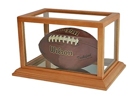 Amazon Football Display Case Stand With UV Protection Wooden Mesmerizing Football Stands Display