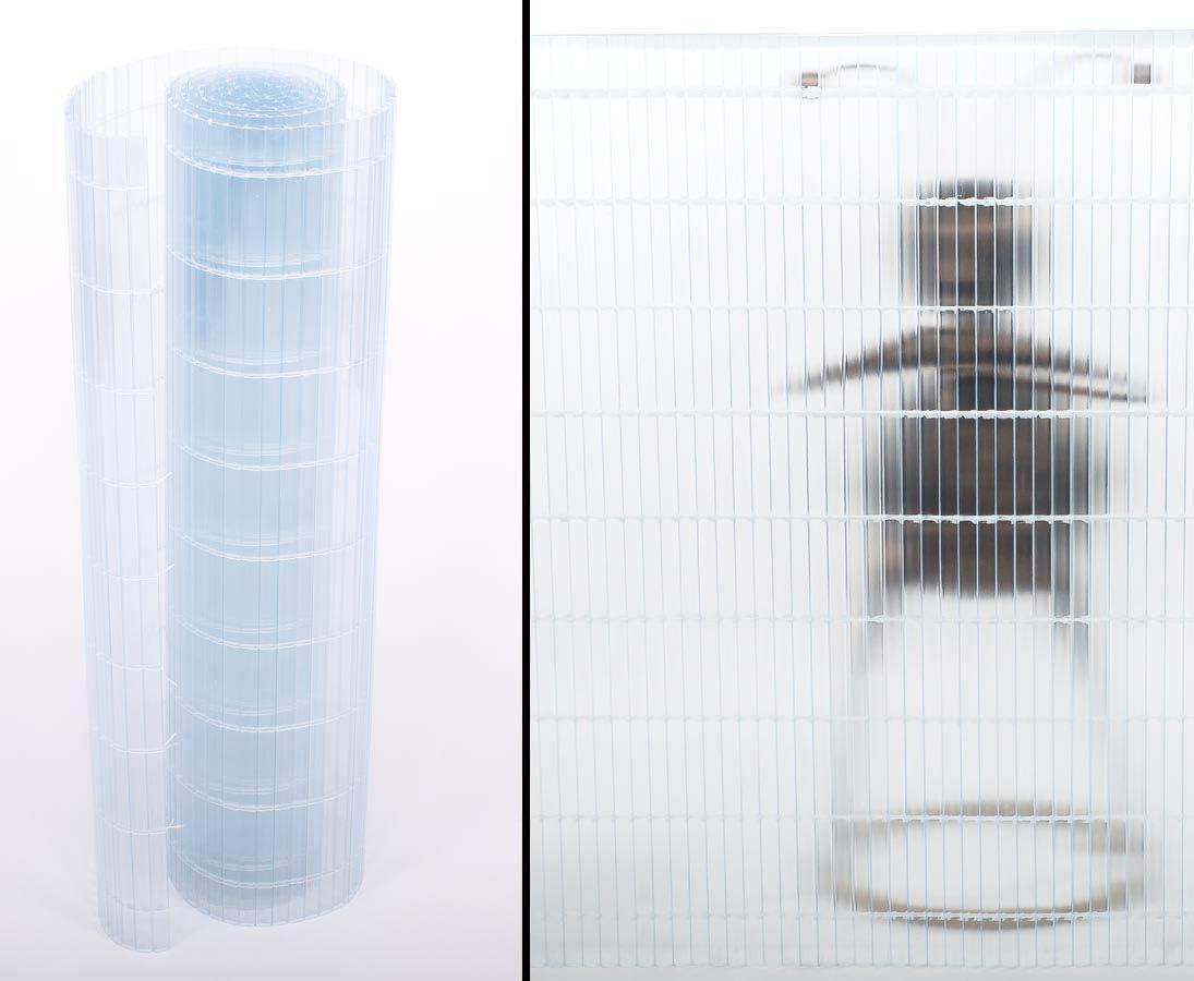 Amazon De Kunststoff Sichtschutz Sunshine Transparent