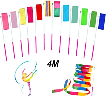 Praise Dancing Streamers for Kids 1 Set Shxstore Rhythmic Gymnastics Ribbon