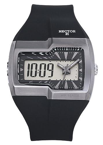 f1710175d404 Hector Reloj analógico digital modelo 665425 - Reloj de pulsera hombre   Amazon.es  Relojes