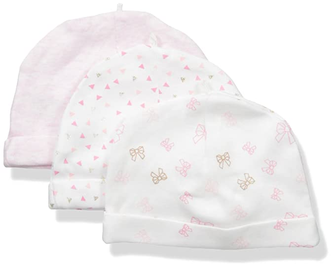 8d528b47f39 Amazon.com: Sterling Baby by Vitamins Baby Girls' Hats 3 Pack Set ...