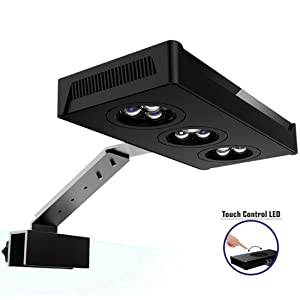 Hipargero Aquarium LED Lights 30W Saltwater Lighting