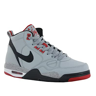 finest selection dc327 b8149 NIKE Flight 13 Mid Mens Basketball Shoes 579961-002 Wolf Grey 11 ...
