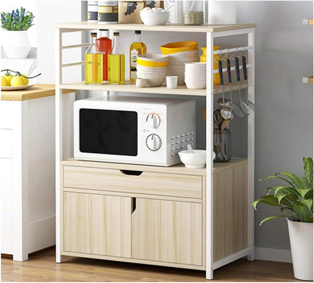 Amazon.com KOKOF Kitchen Shelves Floor Standing Multi Layer ...