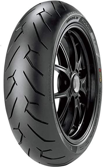 73W 180//55ZR-17 Pirelli Diablo Rosso 3 Rear Motorcycle Tire for Ducati 939 Hypermotard 2016-2018