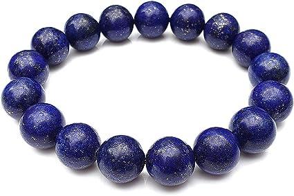 Natural Lapis stone Bracelet Lapis Lazuli Bracelet Semi Precious Stone Bracelet Gemstone Bracelet Bracelet Lapis Lazuli Lapis Bracelet