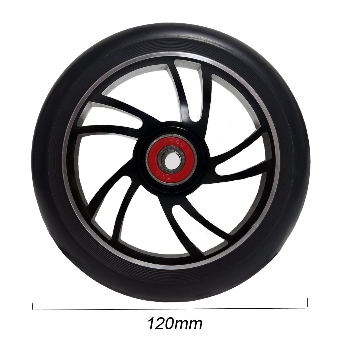 Amazon.com: 2pcs rueda de 120 mm PRO – Patinete Scooter de ...