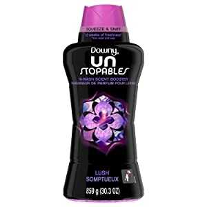 Downy Unstopables In-Wash Scent Booster Beads, Lush (63 loads, 30.3 oz.)