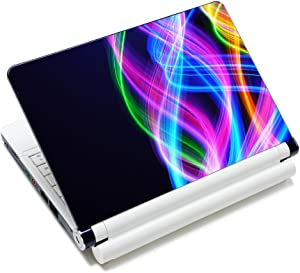 """SpecialBag Colorful Curves Fashion Netbook Laptop Skin Sticker Reusable Protector Cover Case for 11.6"""" -15.6"""" Inch Apple Acer Leonovo Sony Asus Toshiba Hp Samsung Dell YNEK-135"""