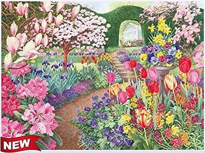 Ravensburger Garden Vistas No1 - Springtime Splendor 500pc Jigsaw Puzzle