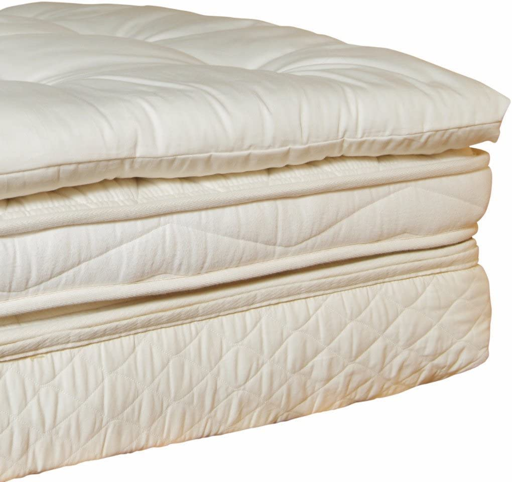 Holy Lamb Organics Wool Mattress Pad