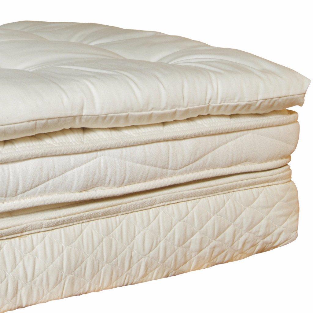 Holy Lamb Organics Wool Mattress Toppers (Queen Deep Sleep Topper)