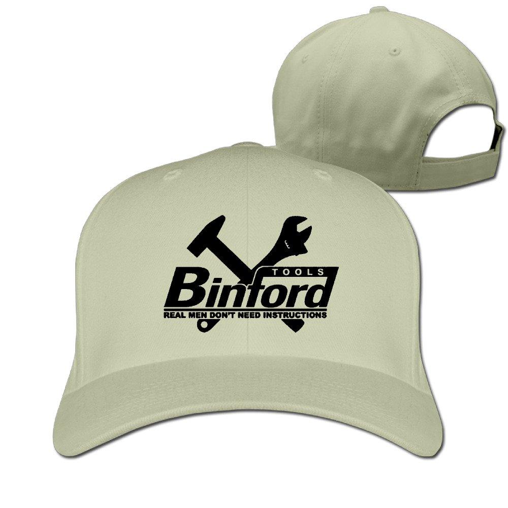 Man s Popular Home Improvement Binford Tools Flat Along Baseball Cap  Snapback Hats at Amazon Men s Clothing store  bc4981e38db