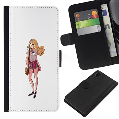 Amazon.com: KingStore / Flip Wallet PU Leather Case Cover ...