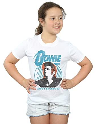 ca4b785f655 Amazon.com  David Bowie Girls Ziggy Stardust Orange T-Shirt  Clothing
