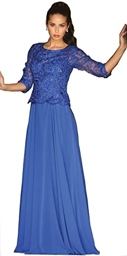 May Queen MQ1279 3/4 Sleeve Mother Of The Bride