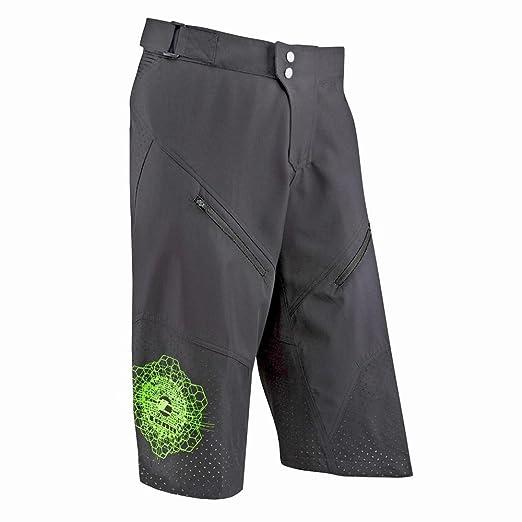 5 opinioni per Tenn Mens Breeze MTB 3/4 Length Cycling Shorts- Black- Med