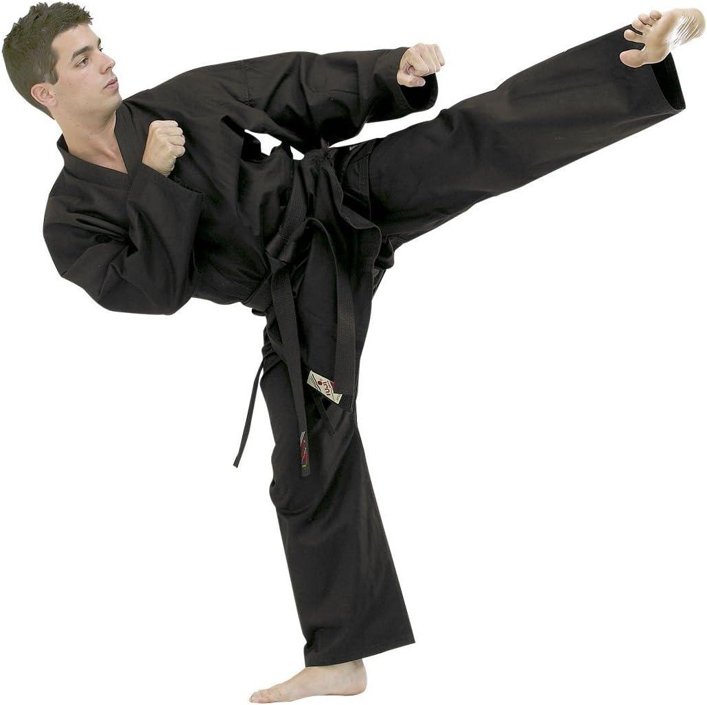 Tenue Hapkido Noir Fuji Mae