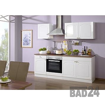 Günstig Küchenzeile 210 Braga Komplett inkl. E-Geräte, Hochglanz ...