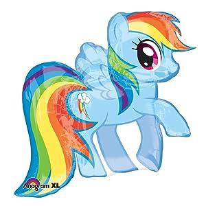 "Mayflower BB60404 My Little Pony 28"" Dash Shape Balloon -Each"
