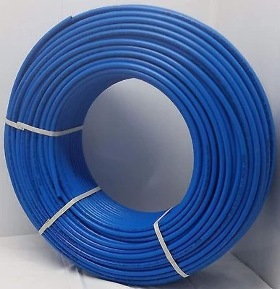 3/8'' - 1000' Coil - Blue Certified Non-Barrier PEX Tubing Htg/Plbg/Potable Water by Badgerpipe