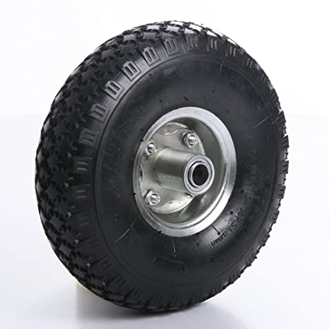 Rueda para carretilla, rueda de repuesto Rueda neumático (carro 4.00 – 4 una Nabe
