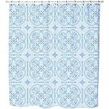 Uneekee Cloud Prince Shower Curtain: Large Waterproof Luxurious Bathroom Design Woven Fabric