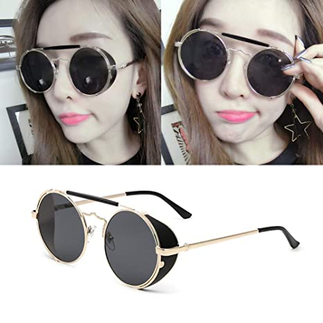 df7e7f58b744 Image Unavailable. Image not available for. Color  GMYANTYJ Sunglasses  Sunglasses women s tide glasses new ...