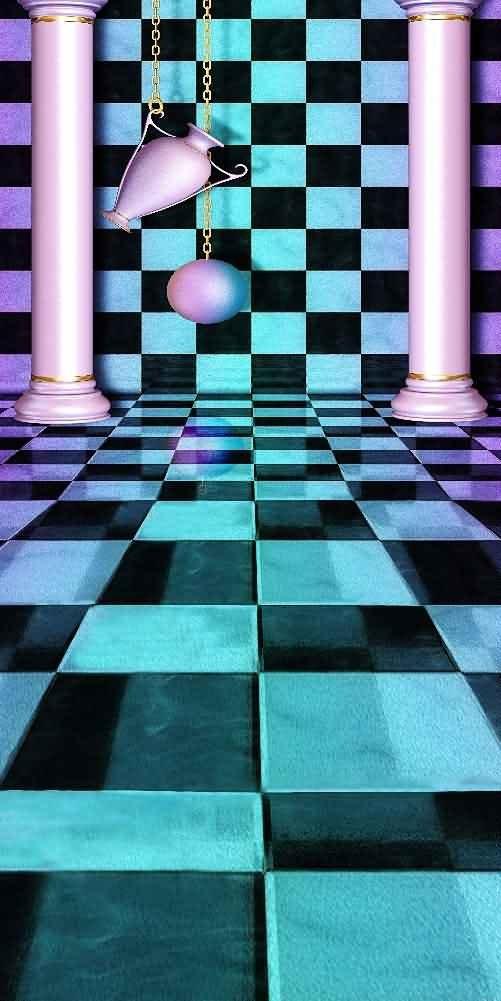GladsBuy Wonderful Palace 10' x 20' Digital Printed Photography Backdrop Magic Theme Background YHB-030
