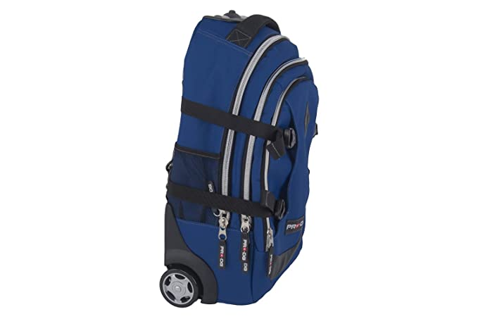 Backpack man PRO-DG travel bag free time with trolley blue M279T:  Amazon.co.uk: Clothing