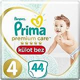 Prima Premium Care Külot Bebek Bezi 4 Beden Maxi İkiz Paket  44 Adet