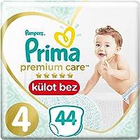 Prima Premium Care Külot Bebek Bezi, 4 Beden, 44 Adet, Maxi İkiz Paket