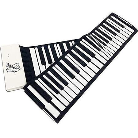 MCRDAE Roll Up Piano de Silicona | Espesados Keys |Actualizado ...