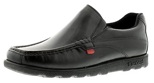 Hombre / Negro Hombre Kickers Fragma MOCASIN Estilo Zapatos de Diario Negro - GB Tallas 6-11 - Negro, 44.5: Amazon.es: Zapatos y complementos