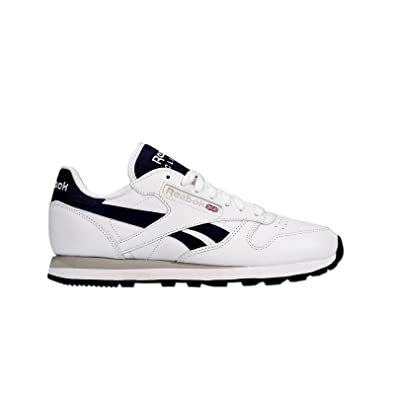 15be34ec62f Reebok - Classic Leather POP SC - Runner - Low Top Sneaker - White   Amazon.co.uk  Shoes   Bags