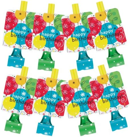 Breezy Birthday Goodie Bags, 8ct