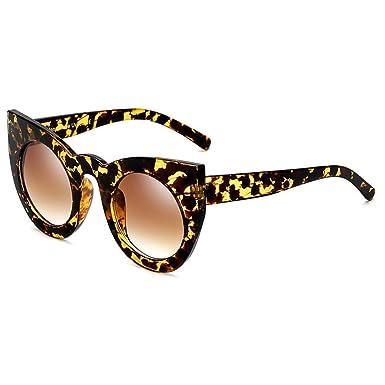 MEIHAOWEI Oeil de chat Lunettes de soleil Femme Crystal Frame Glasses Lunettes de soleil UV400 C1 TOJ84XfYEe