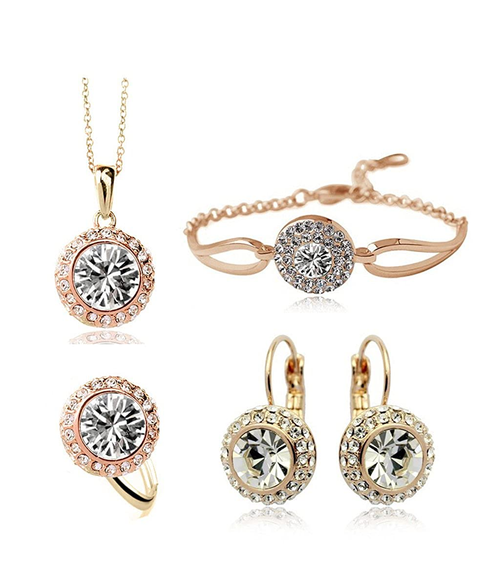 Beautiful Crystal Jewelry Set.