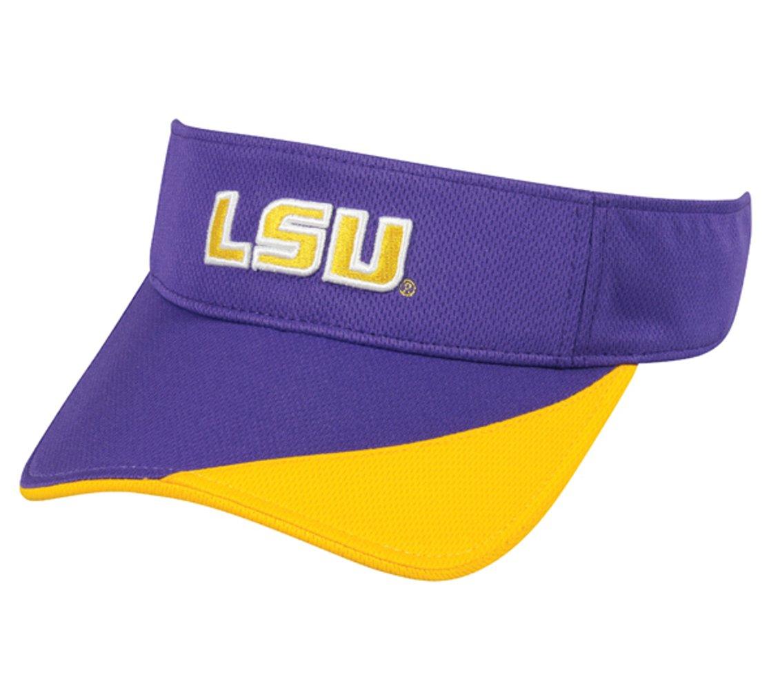 LSU Tigers Adjustable Velcro Visor