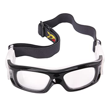 9a3f954a6bb Panlees Goggles Sports Glasses Adjustable Elastic Wrap Eyewear For Soccer  Basketball Tennis Lover  Amazon.co.uk  Sports   Outdoors