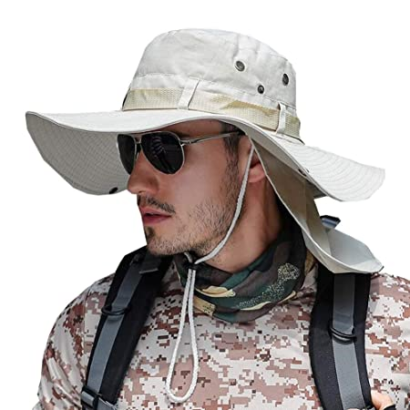 ZX Gorras Sombrero para El Sol Hombres Anti-Ultravioleta Sombrero ...