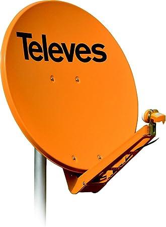 Televes 7903 - Antena parabolica off-set aluminio disco 950 ...
