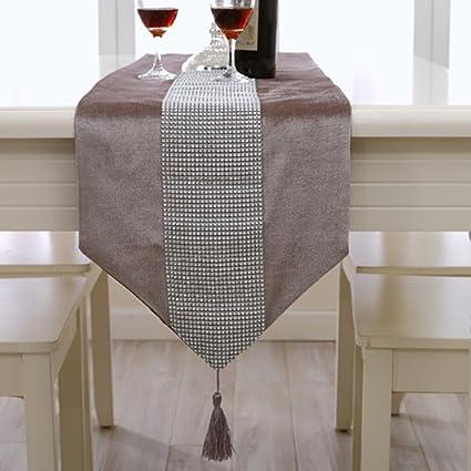 Caminos de mesa LZ-Snail Decoración Table Runner Wedding Birthday Uso Cotidiano Cocina Living Room