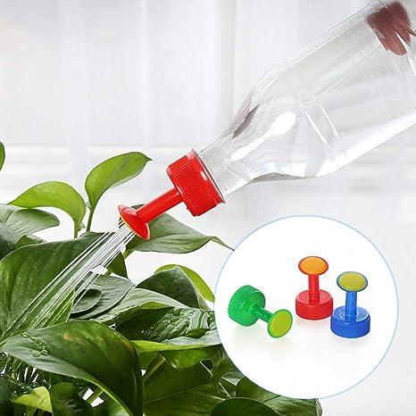 BESTEU Inyector de riego de la Tapa de Botella Que riega los Accesorios para Las Botellas