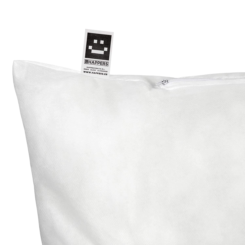 HAPPERS Relleno de cojín Fibra Hueca siliconada, Blanco, 50x60 cm: Amazon.es: Hogar