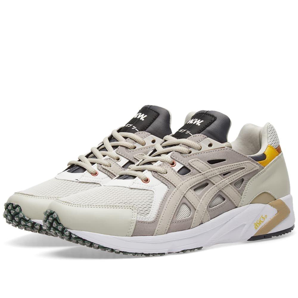c8719607ea59 ASICS By Wood Wood GEL-DS TRAINING OG Men s Sneakers (H7EVK-1512) (Moonrock Feather  Grey) (UK 9   EU 44   US 10   CM 28.0)  Amazon.co.uk  Sports   Outdoors