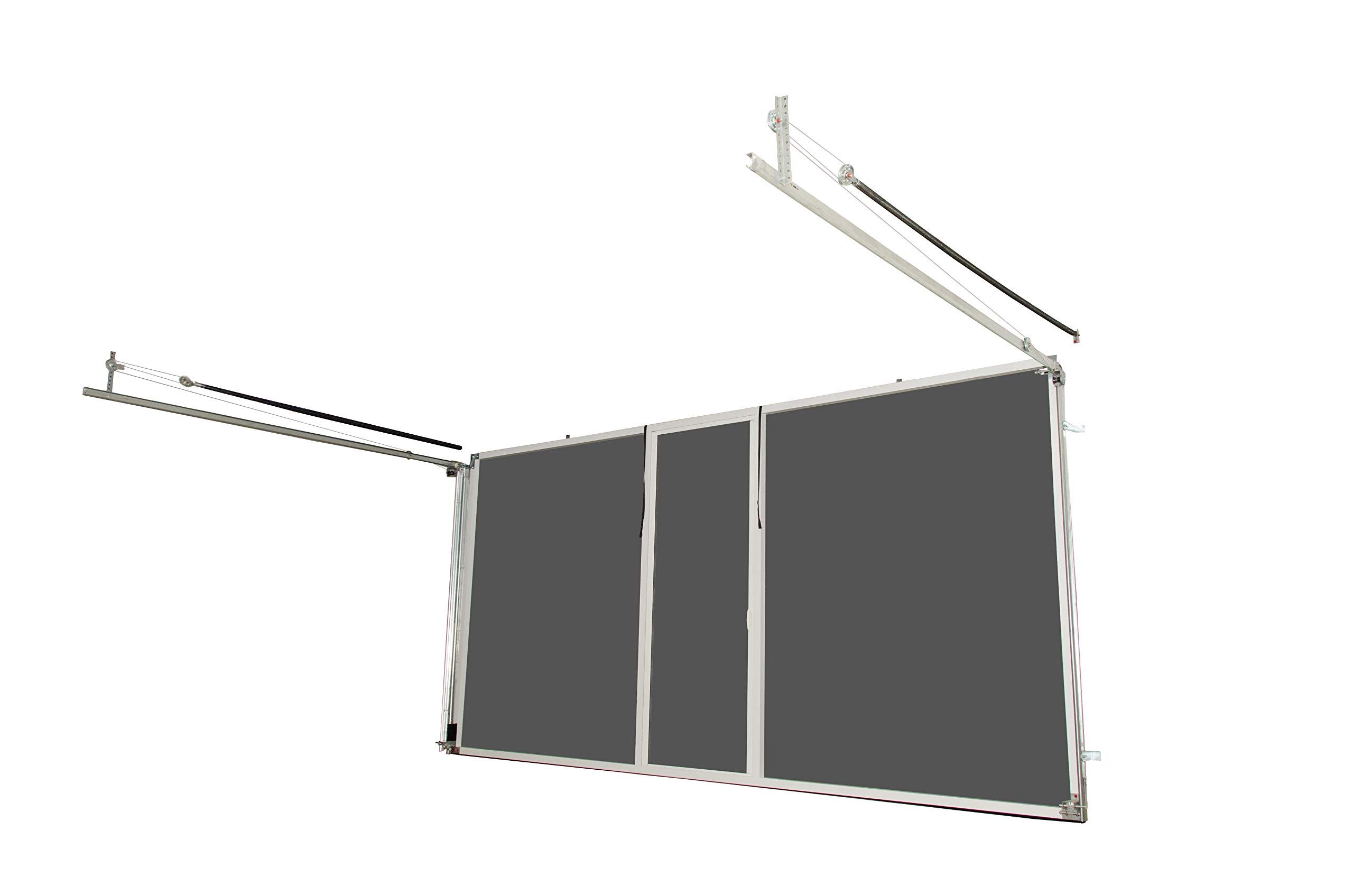 Lifestyle Screens Garage Door Screen 7'H with Standard Screen Material (All Widths & All Colors) (16'Wx7'H, Brownstone) by Lifestyle Screens (Image #1)