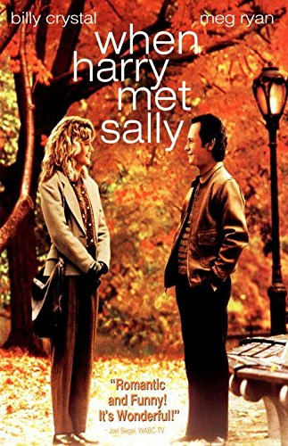 When Harry Met Sally Movie POSTER 11 x 17 Billy Crystal, Meg Ryan, B, MADE IN THE U.S.A. When Harry Met Sally Poster